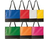 Faltbare Non-Woven Einkaufstasche, 2-farbig
